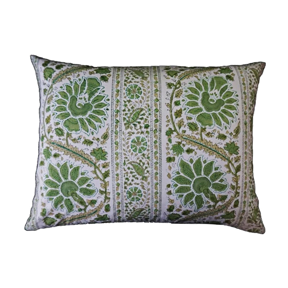 Mini Pillow Case - Block Printed - Indian summer