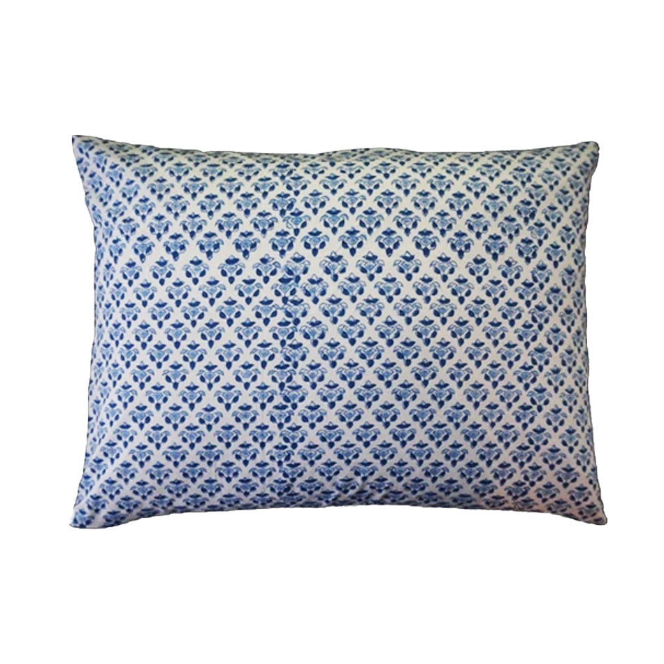 Mini Pillow Case - Block Printed - Sanganori Buta