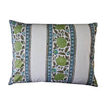 Load image into Gallery viewer, Mini Pillow Case - Block Printed - Stipe Border