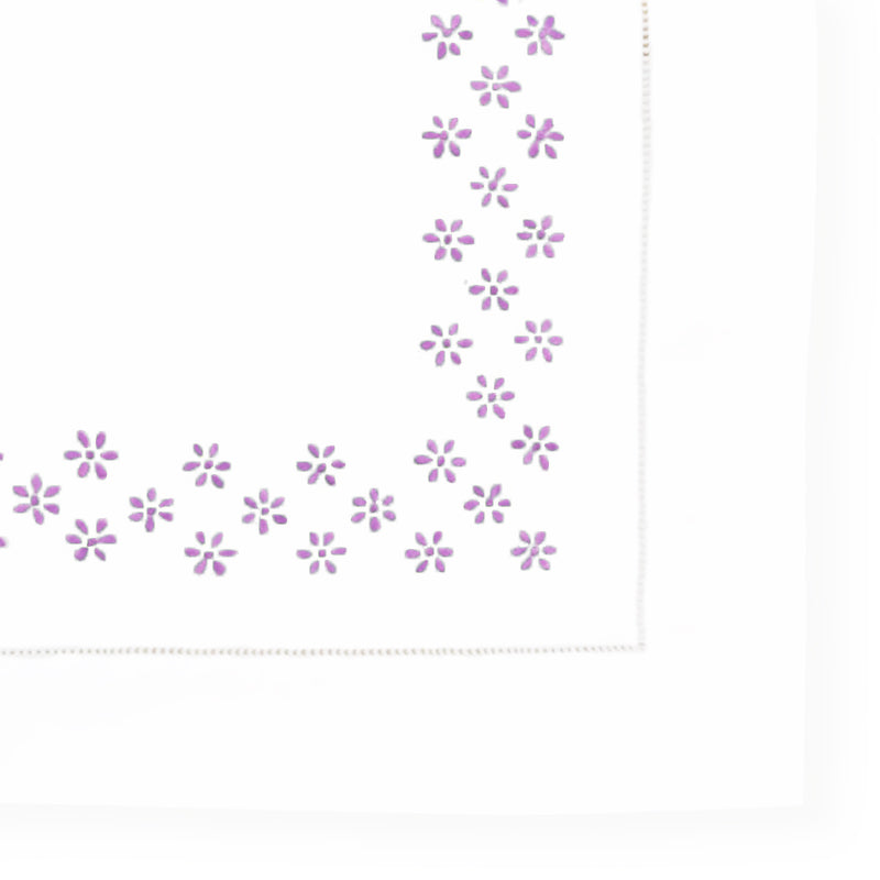 Mini Pillow Case - Pergola - Purple