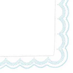 Mini Pillow Cases - Grani - Light Blue