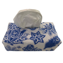 Load image into Gallery viewer, Fabric Tissue Box Cover Roberta Jal