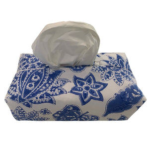 Fabric Tissue Box Cover Roberta Jal