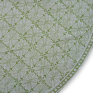 Tablecloth - Round - Square Flower