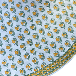 Tablecloth - Round - Stripe Buta