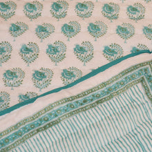Load image into Gallery viewer, SALE - Quilt - Stripe Buta - Aqua