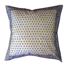 Load image into Gallery viewer, Sally Border Cushion Cover 55 x 55cm