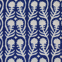 Load image into Gallery viewer, Sally Blue Fine Indian Cotton Fabric at Pigott's Store