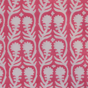 Sally Pink Fine Indian Cotton Fabric at Pigott's Store