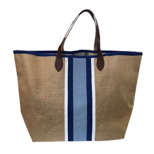 Load image into Gallery viewer, Santorini Jute Tote Bag