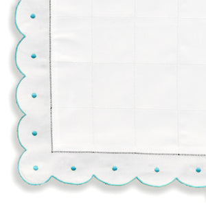 Mini Pillow Case - Scallop Dot - Mint Green CCNB2000/563