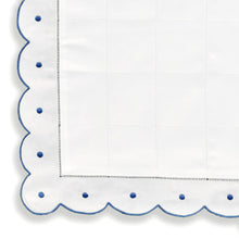 Load image into Gallery viewer, Mini Pillow Case - Scallop Dot - Navy Blue CC-NB2000/312