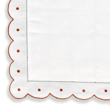 Load image into Gallery viewer, Mini Pillow Case - Scallop Dot - Red CC-NB2000/321