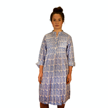 Load image into Gallery viewer, Pleated Dress - Gita Paisley