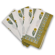 Load image into Gallery viewer, Sunflower Buta Napkins at Pigott's Store