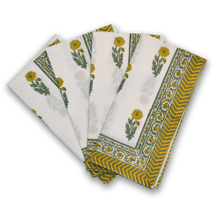 Sunflower Buta Napkins at Pigott's Store