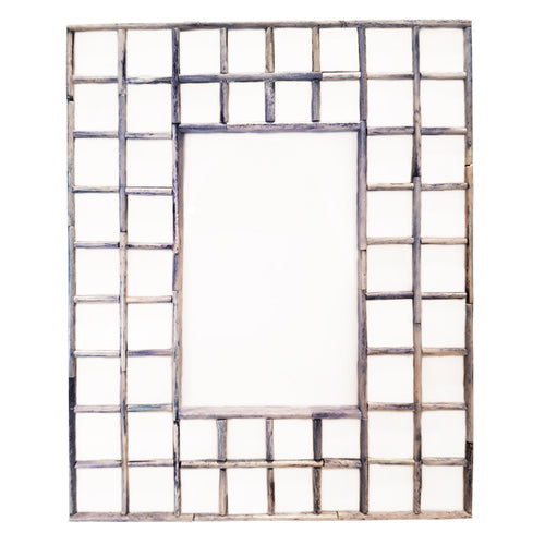 Tiled Frame Blue/Grey LGE