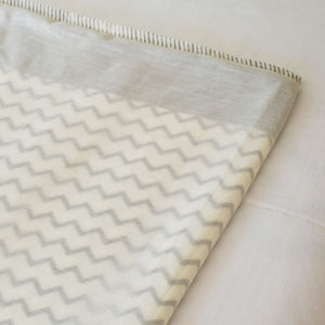 Cot Doha Blanket at Pigott's Store Grey