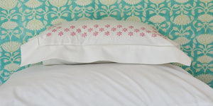 Mini Pillow Case - Pergola - Light Pink