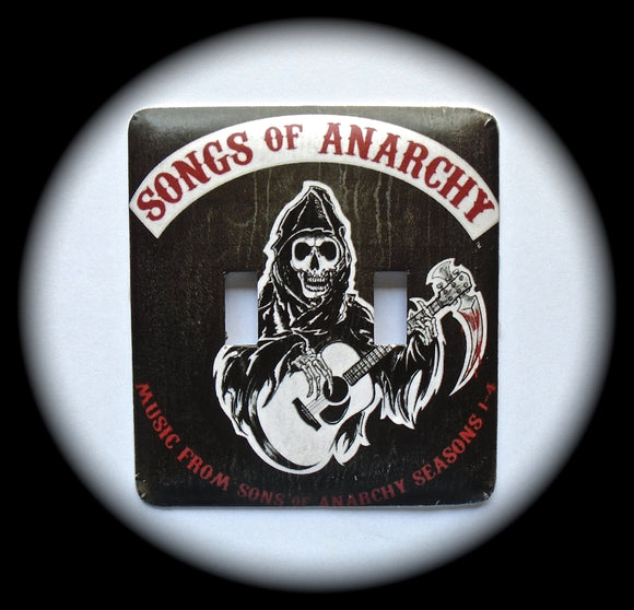 Metal Double Toggle Switch Plate Cover ~ Songs of Anarchy - Just Switch It 2
