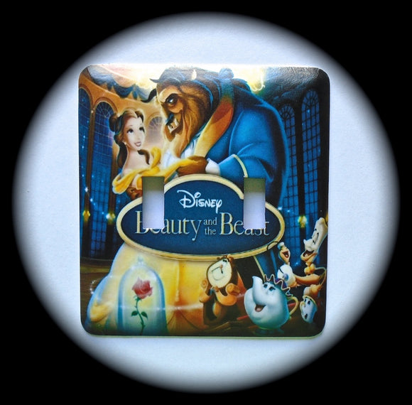 Metal Double Toggle Switch Plate Cover ~ Animated Movie - Just Switch It 2