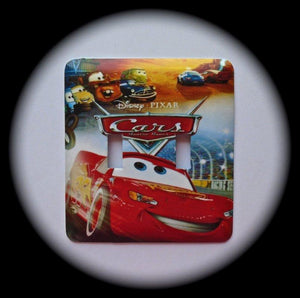 Metal Double Toggle Switch Plate Cover ~ Animated Family Movie - Just Switch It 2