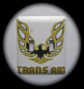 Metal Double Toggle Switch Plate Cover ~ Pontiac Trans Am - Just Switch It 2