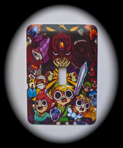 Metal Single Toggle Switch Plate Cover ~ Anime - Just Switch It 2