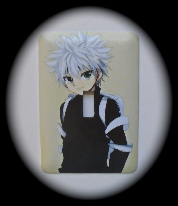 Metal Single Toggle Switch Plate Cover ~ Anime Killugon - Just Switch It 2