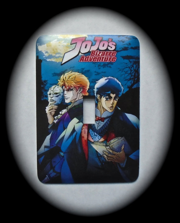 Metal Single Toggle Switch Plate Cover ~ Anime JoJo's - Just Switch It 2
