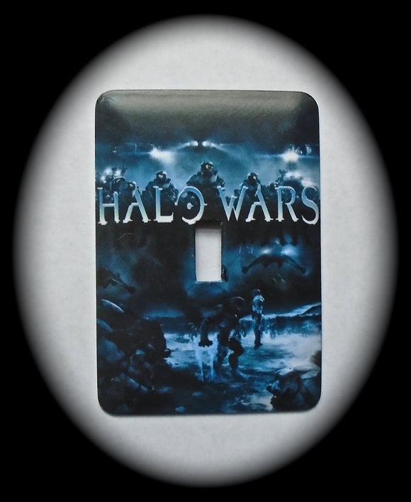 Metal Single Toggle Switch Plate Cover ~ Anime Halo Wars - Just Switch It 2