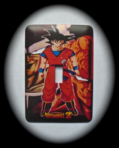 Metal Single Toggle Switch Plate Cover ~ Anime Dragon Ball Z - Just Switch It 2