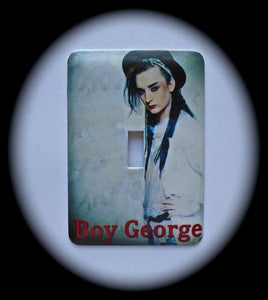 Metal Single Toggle Switch Plate Cover ~ New Wave Singer - Just Switch It 2