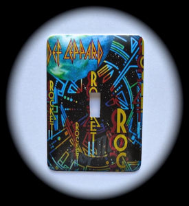 Metal Single Toggle Switch Plate Cover ~ Hard Rock Metal Band - Just Switch It 2