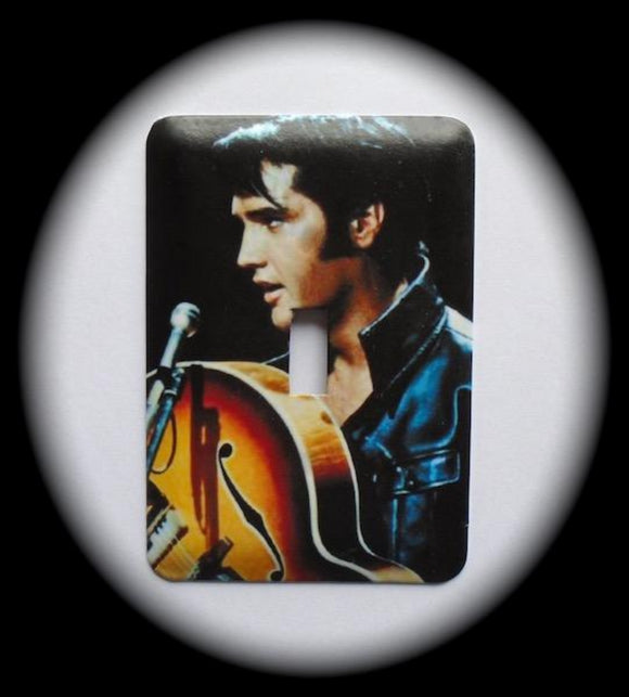 Metal Single Toggle Switch Plate Cover ~ Rock & Roll Gospel Singer - Just Switch It 2