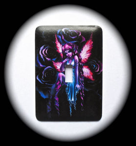 Metal Single Toggle Switch Plate Cover ~ Fairy - Just Switch It 2
