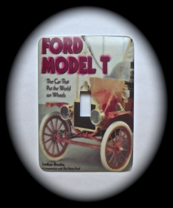 Single Switch Plate ~ Ford Model T