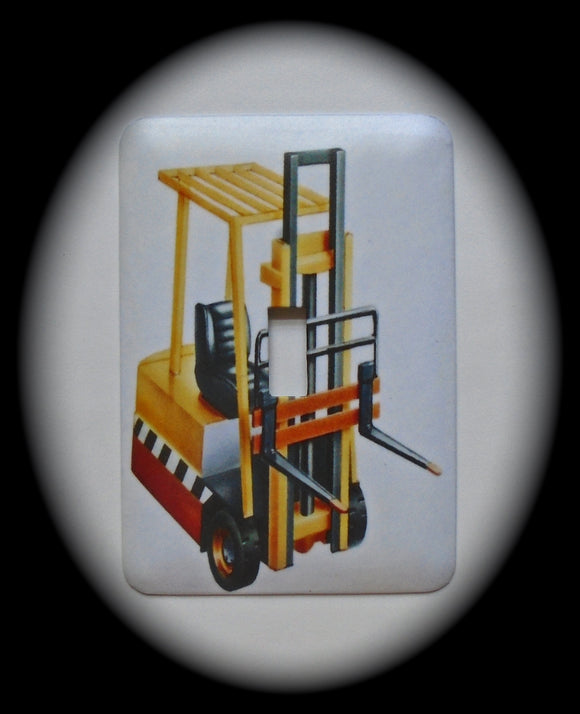 Single Switch Plate ~ Forklift