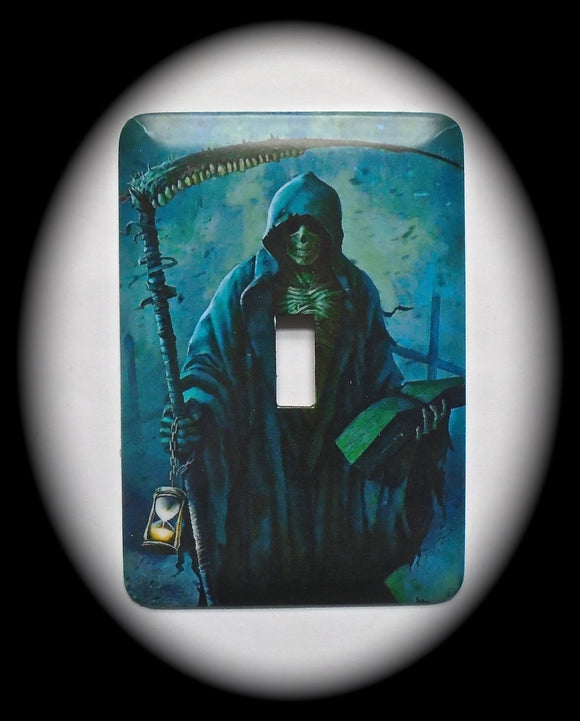 Single Switch Plate ~ Grim Reaper