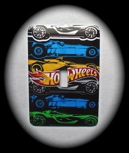 Metal Single Toggle Switch Plate Cover ~ Hot Wheels - Just Switch It 2