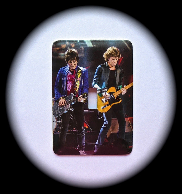 Metal Single Toggle Switch Plate Cover ~ Pop Rock Band - Just Switch It 2