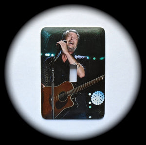 Metal Single Toggle Switch Plate Cover ~ Country Music Singer - Just Switch It 2