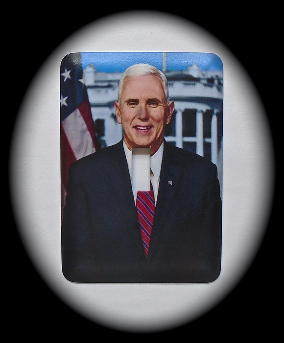 Single Switch Plate ~ Mike Pence