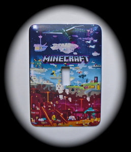 Metal Single Toggle Switch Plate Cover ~ Video Game - Just Switch It 2