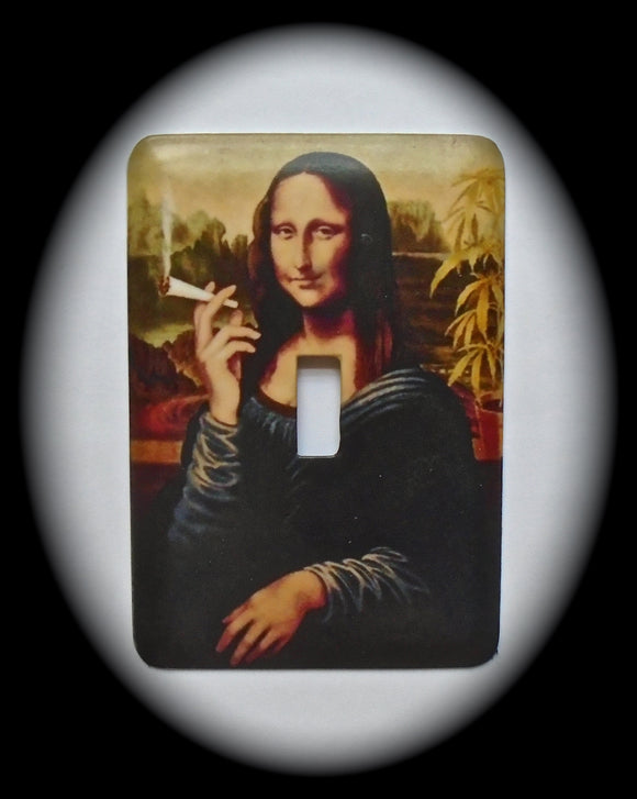 Single Switch Plate ~ Mona Lisa