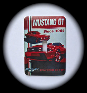 Metal Single Toggle Switch Plate Cover ~ Ford Mustang GT - Just Switch It 2