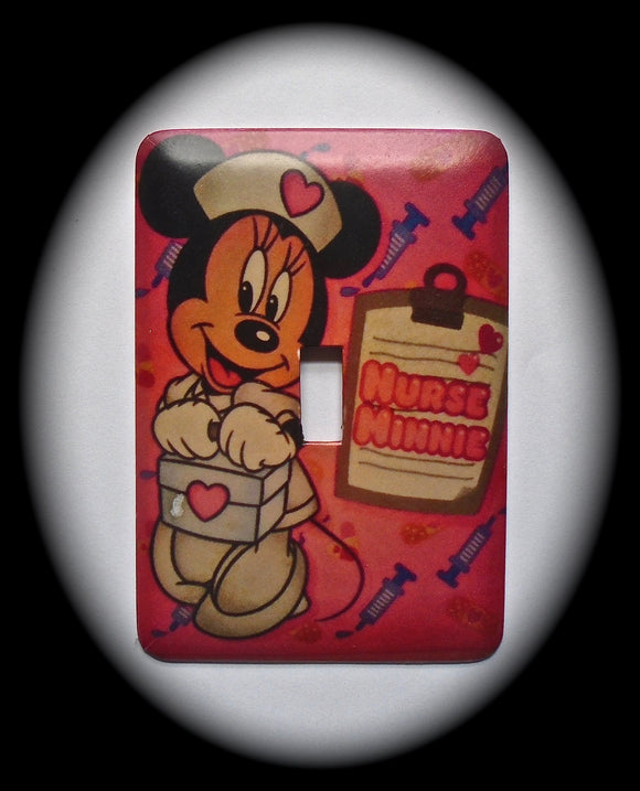 Single Switch Plate ~ Nurse Minnie