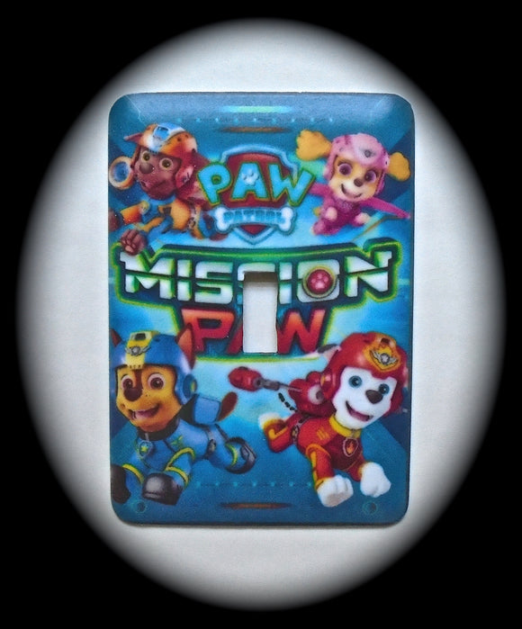 Single Switch Plate ~ PAW Patrol