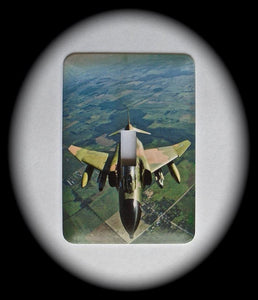 Metal Single Toggle Switch Plate Cover ~ Military Jet Fighter - Just Switch It 2