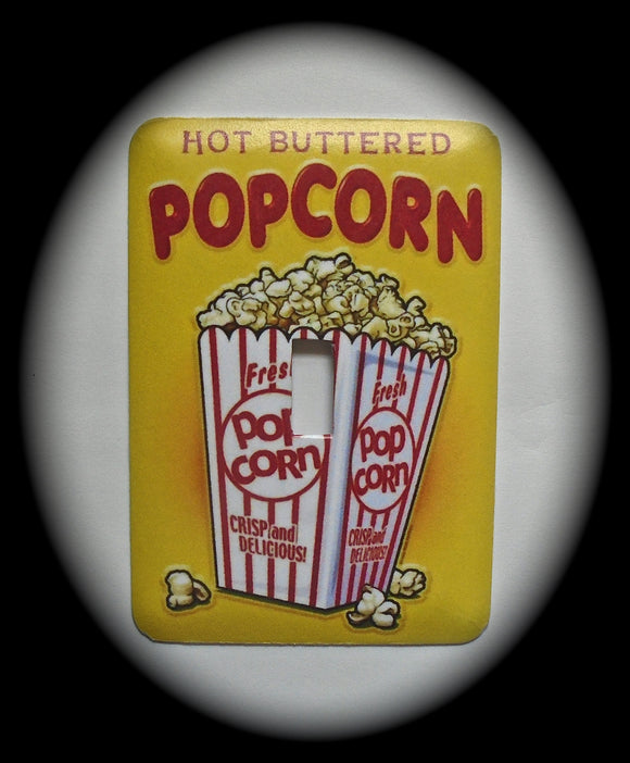 Single Switch Plate ~ Popcorn